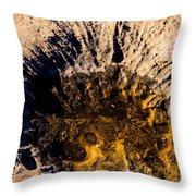 Crater Throw Pillow