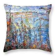 Crater Lake - 1997 Throw Pillow