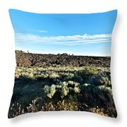 Craters Of The Moon 3 Throw Pillow