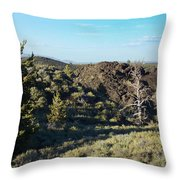 Craters Of The Moon2 Throw Pillow