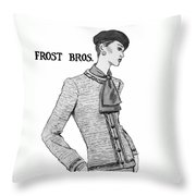 Cravat Throw Pillow