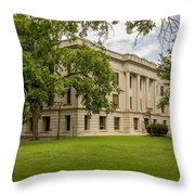 Crawford County Courthouse Throw Pillow