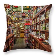 Crawley General Store Throw Pillow