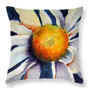 Crazy-daizy Throw Pillow