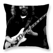 Crazy Fingers Throw Pillow