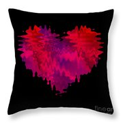 Crazy Love 2 Throw Pillow