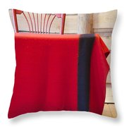 Crazy Songs Throw Pillow
