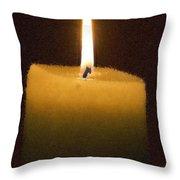 Crean En La Luz Throw Pillow
