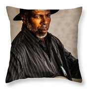 Creating Music Throw Pillow