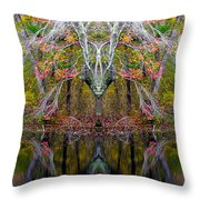 Creation 253 Throw Pillow