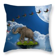 Creation Throw Pillow