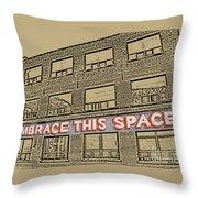 Creative Arts Studio Throw Pillow