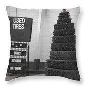 Creative Christmas Tree Throw Pillow