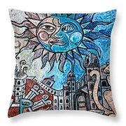 Creative Creating Throw Pillow