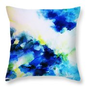 Creative Forces  Throw Pillow