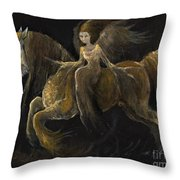Creatures Of The Night Throw Pillow