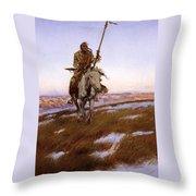 Cree Indian Throw Pillow