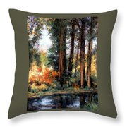 Creekside No 2 Throw Pillow