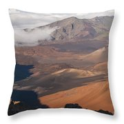 Creeping Shadows Throw Pillow