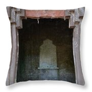 Creepy Crypt Throw Pillow