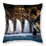 Creoula Throw Pillow