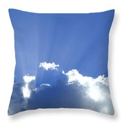 Crepuscular Rays 2am-005269 Throw Pillow