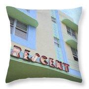 Crescent Hotel Throw Pillow