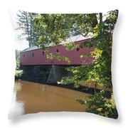Cresson Bridge Throw Pillow