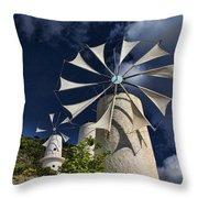 Creton Windmills Throw Pillow