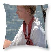 Crewman Throw Pillow