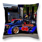 Crg 66 At Porsche Cup Throw Pillow