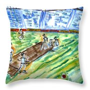 Cricket-day Throw Pillow