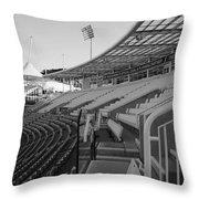 Cricket Pavilion Throw Pillow