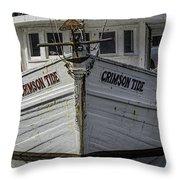 Crimson Tide Headon Throw Pillow