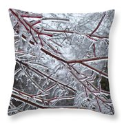 Crisp Pt2 Throw Pillow
