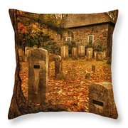 Crispsell Memorial French Church  Throw Pillow
