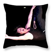Criss Angel Breaks Free Throw Pillow