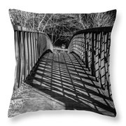 Crisscross Throw Pillow