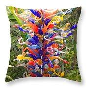 Cristal Garden 2 Throw Pillow