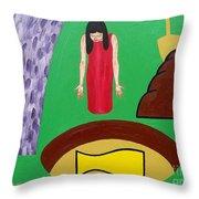 Crock Of Gold Throw Pillow
