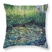 Crocodile Creek Throw Pillow
