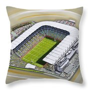 Croke Park Throw Pillow
