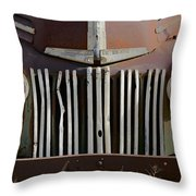 Crooked Grill Throw Pillow