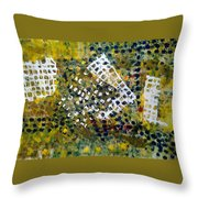 Crooked Trails Throw Pillow