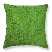Crop Circles Throw Pillow