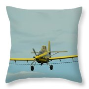 Crop Dusting 9002 Throw Pillow