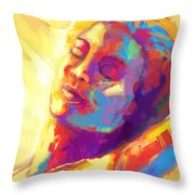 Cropped Victory Dance Throw Pillow