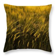 Crops Throw Pillow