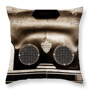 Crosley Front End Grille Emblem Throw Pillow