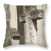 Cross Charleston Sc Throw Pillow